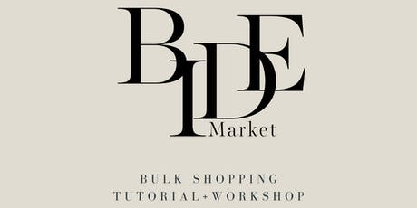 How To: Bulk Shopping with BIDE Market tickets