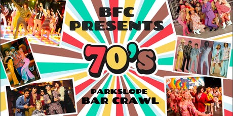 70s THEME PARK SLOPE BAR CRAWL (FUNDRAISER) tickets