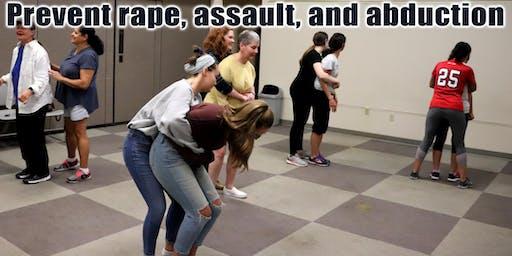Women's Self-Defense Class, Wantagh NY (prevent rape, assault, & abduction)