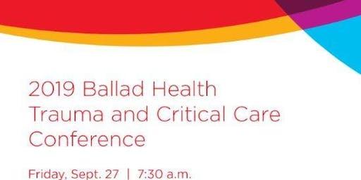 Ballad Health Trauma and Critical Care Conference