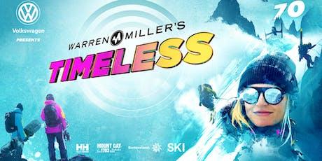 WARREN MILLER'S TIMELESS - THURSDAY 7:30PM tickets