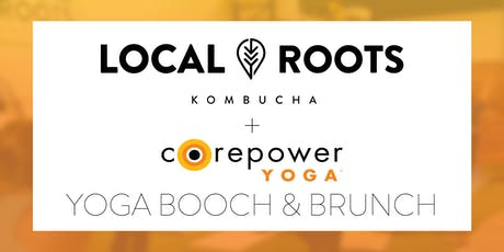 Yoga, Booch, & Brunch w/ Core Power tickets