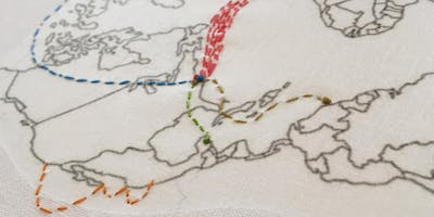 Embroidered Maps with Susan McDaniel
