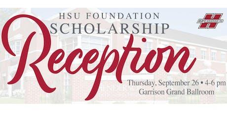 HSU Foundation Scholarship Reception tickets