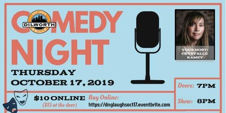 Dilworth Laughs - Third Thursdays - OCTOBER tickets