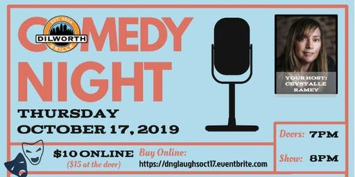 Dilworth Laughs - Third Thursdays - OCTOBER