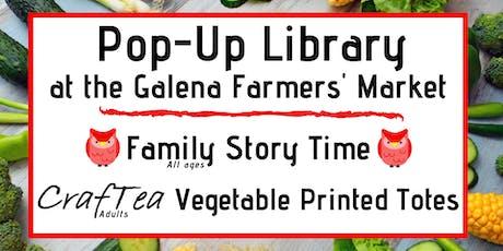 CrafTea: Vegetable Block Printed Tote Bag tickets