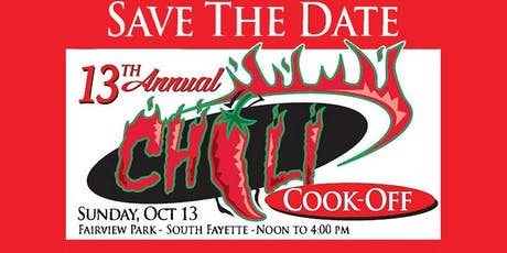13th Annual Rotary Chili Cook-Off tickets