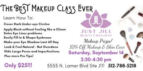 The Best Makeup Class Ever tickets