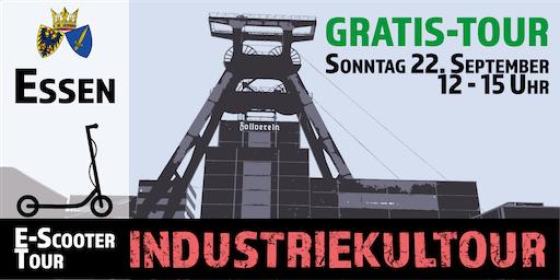 "Gratis E-Scooter Tour: ""Industriekultour"" Essen"