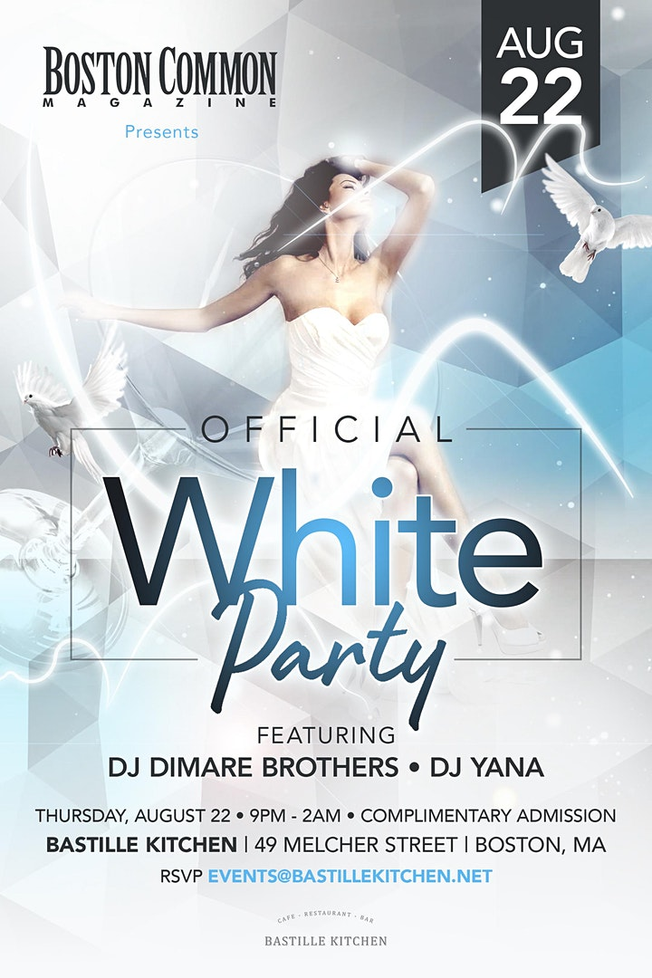 Official White Party at Bastille Kitchen image