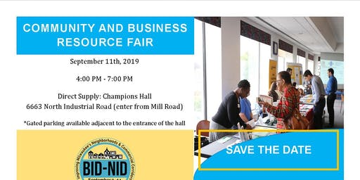 Community and Business Resource Fair