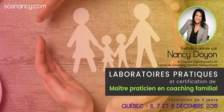 Laboratoires pratiques et certification -Maître praticien coaching familial billets