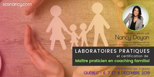 Laboratoires pratiques et certification -Maître praticien coaching familial