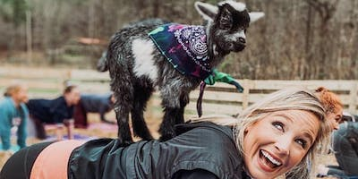 Goat Yoga Bham-Gentle Flow Yoga for Beginners