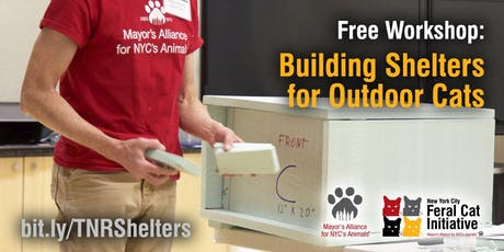 Workshop: Building Shelters for Outdoor Cats tickets