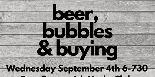Beer, Bubbles  & Buying ( A FREE HOME BUYERS CLASS )