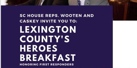 Lexington County Hero's Breakfast tickets