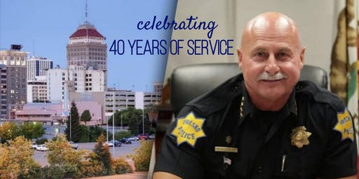 Celebrating Chief Dyer's 40 years of service!