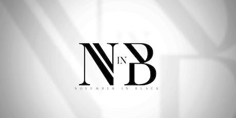 "NOVEMBER IN BLACK GALA: ""AVANT GARDE"" tickets"