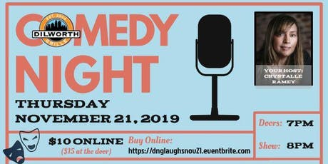 Dilworth Laughs - Third Thursdays - NOVEMBER tickets