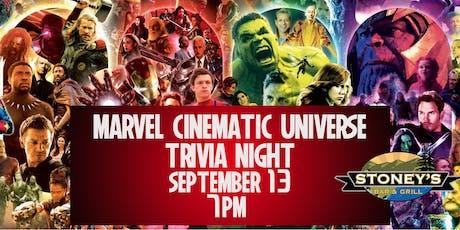Marvel Cinematic Universe Trivia Night tickets