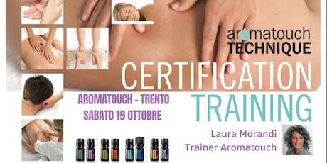 Corso doterra AromaTouch Technique Trento biglietti