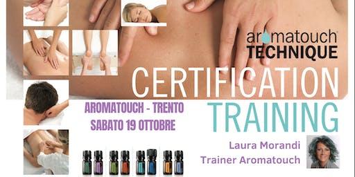Corso doterra AromaTouch Technique Trento