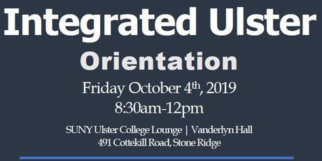 Integrated Ulster Orientation tickets