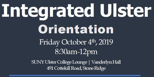 Integrated Ulster Orientation