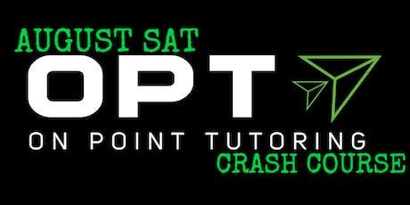 OPT August SAT Crash Course tickets