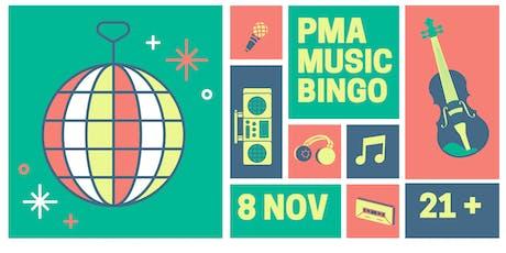 PMA MUSIC BINGO tickets