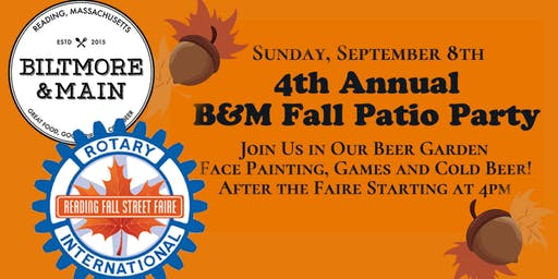 B&M Fall Patio Party