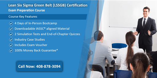 Lean Six Sigma Green Belt (LSSGB) Certification Training In Chicago, IL