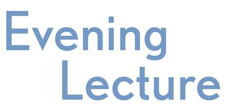 Natalie Ebner Evening Lecture tickets