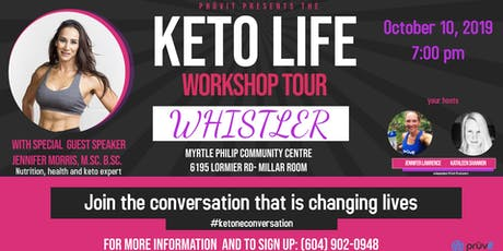 Keto Life Workshop- Whistler tickets