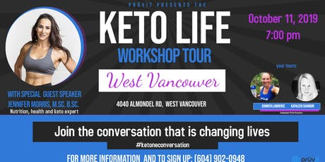 Keto Life Workshop- Vancouver tickets