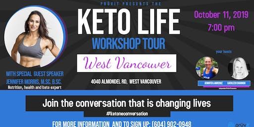Keto Life Workshop- West Vancouver