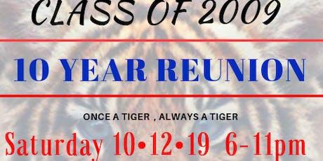 McKeesport Class of 2009 10 year reunion tickets