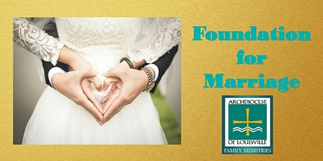 Foundation for Marriage (November 7, 2020) tickets