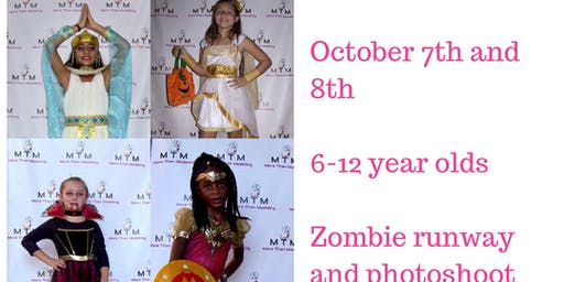 Fall Break Camp - for  6-12 year olds. Photoshoot and runway show !