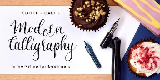 A Beginner's Workshop in Modern Calligraphy (+ Coffee + Cake!)