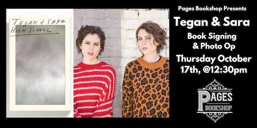 Exclusive Tegan & Sara Book Signing at Pages Bookshop