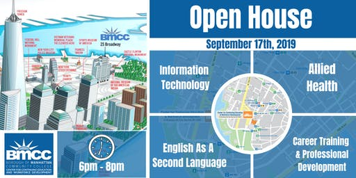 BMCC Center for Continuing Education & Workforce Development Open House