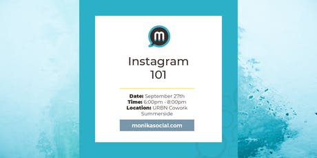 Instagram 101 tickets