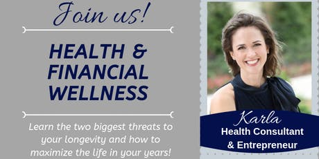 August Health and Financial Wellness tickets