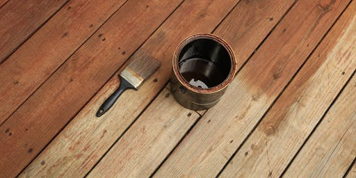 How to Stain Your Deck Day