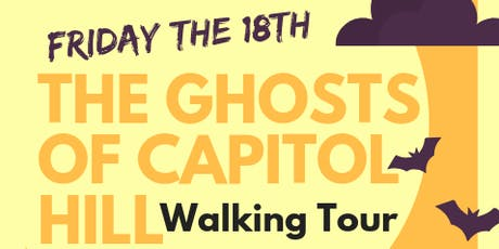 Ghosts of Capitol Hill Walking Tour tickets