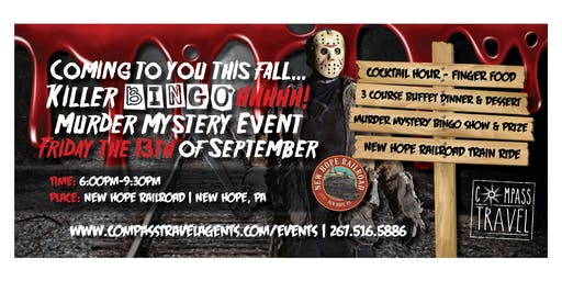 Friday the 13th Murder Mystery Train Ride