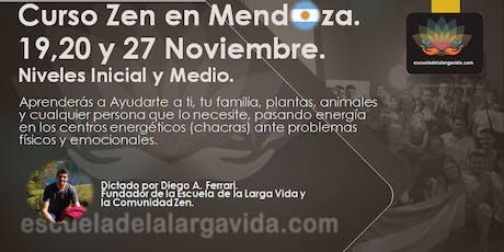 Curso Zen en Mendoza: 19,20 y 27 Noviembre. entradas
